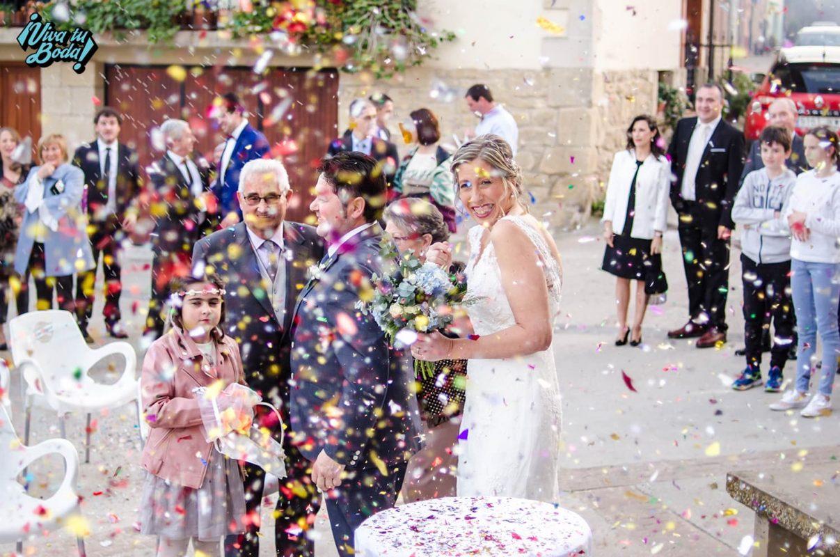 foto dia de la boda navarra la rioja