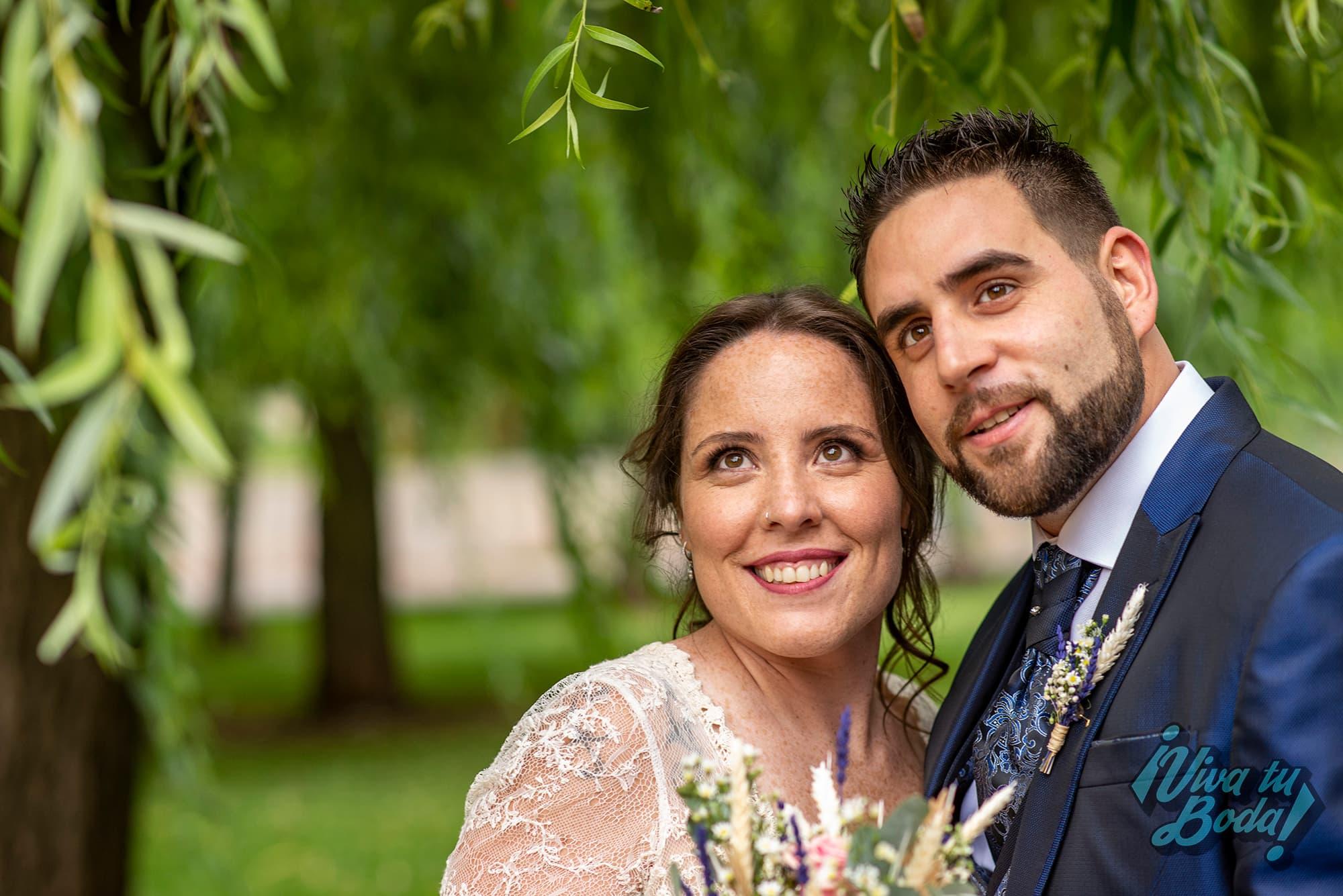 Fotos de boda realizadas a los novios en Restaurante San Camilo, Navarrete
